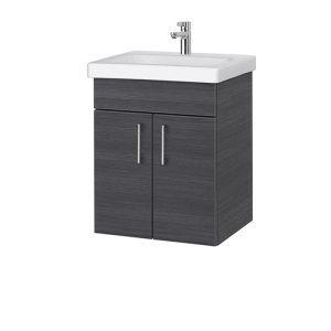 RIVA, vonios kambario baldai, spintelė su praustuvu, SA49c-18a, praustuvas, Riva50C, Riva50C-1