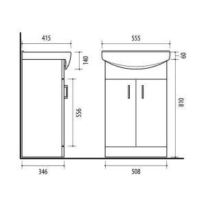 Riva-vonios-kambario-baldai-pastatoma-spintele-su-dviem-durelem-SA55-4-su-praustuvu-RIVA55