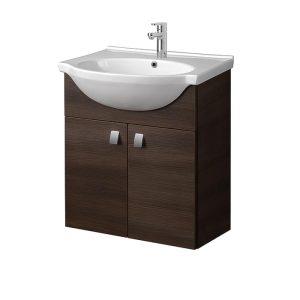 Riva-vonios-kambario-baldai-pakabinama-spintele-su-dviem-durelem-SA60-11-su-praustuvu-RIVA60
