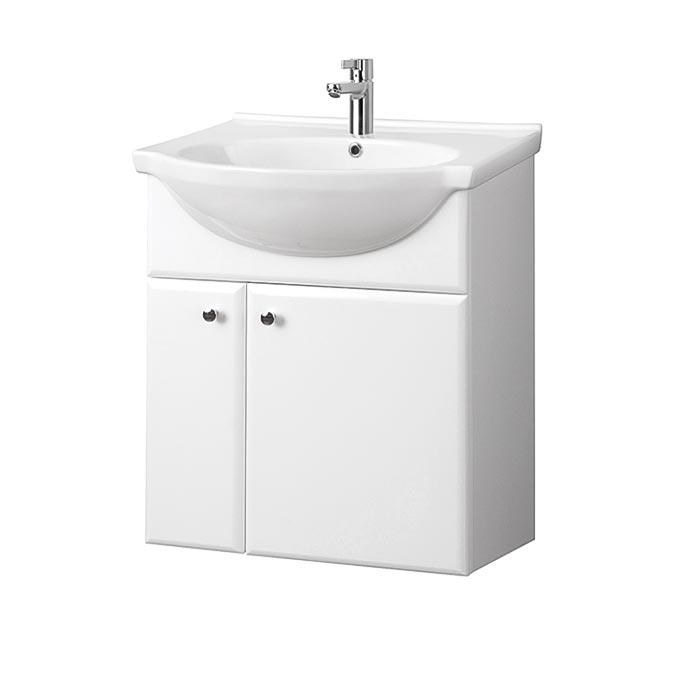 Riva-vonios-kambario-baldai-pakabinama-spintele-su-dviem-durelem-SA60-5-su-praustuvu-RIVA60