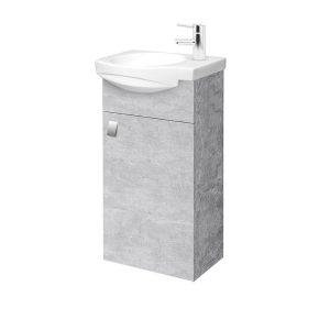 RIVA, vonios kambario baldai, vonios spintelė, SA40-11, praustuvas, Riva40