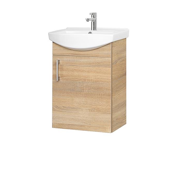 Riva-vonios-kambario-baldai-pakabinama-vonios-spintele-su-durelem-SA45-18-su-praustuvu-RIVA45