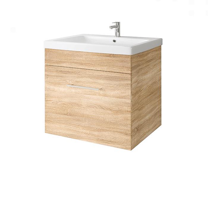 Riva-vonios-kambario-baldai-pakabinama-vonios-spintele-su-dviem-stalciais-SA60C-2-su-praustuvu-RIVA60C