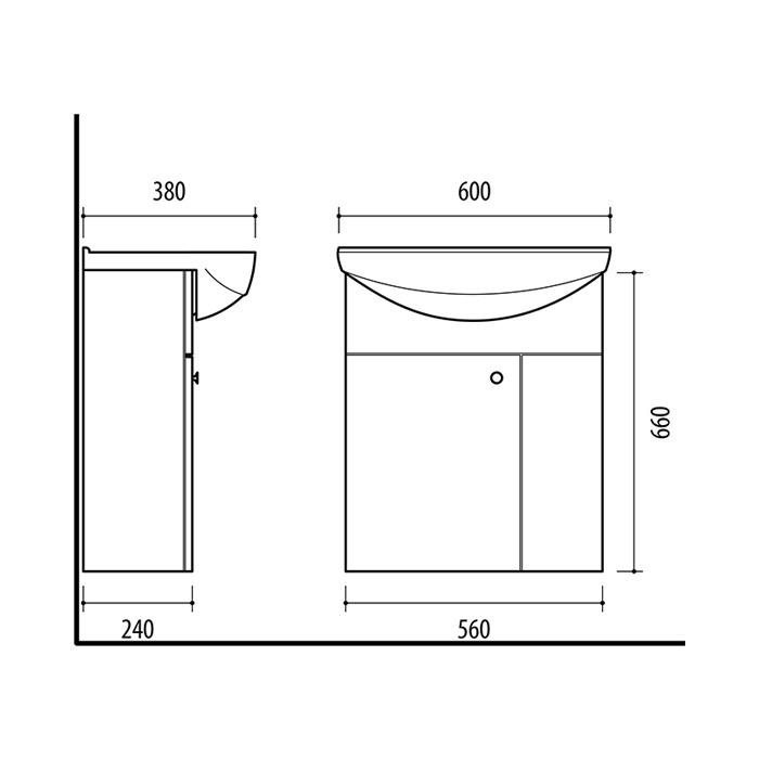 Riva-vonios-kambario-baldai-pakabinama-spintele-su-vienom-durelem-su-praustuvu-RIVA60D
