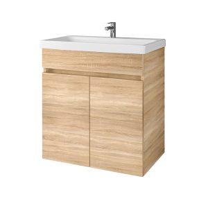 Pakabinama, vonios spintelė, SA63-10E Sonoma Oak, su praustuvu RIVA63 arba RIVA63C