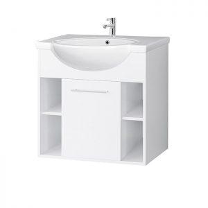 Riva vonios kambario baldai, spintelė su praustuvu, SA70-7, praustuvas RIVA70A