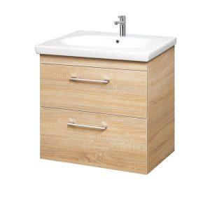 Riva-vonios-kambario-baldai-pakabinama-spintele-su-dviem-stalciais-SA70C-1-su-praustuvu-RIVA70C
