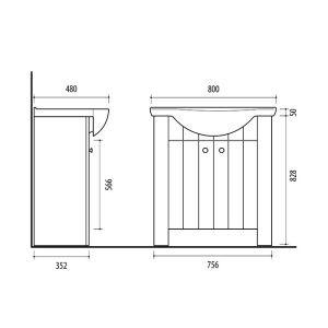 Riva-vonios-kambario-baldai-pastatoma-spintele-su-dviem-durelem-SA80-10-su-praustuvu-RIVA80