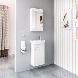 Riva, vonios baldai, vonios spintelė, SV40, spintelė su praustuvu, SA40, praustuvas, RIVA40