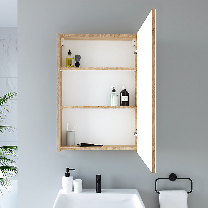 RIVA, vonios kambario baldai, vonios spintelė, SV50A-5E