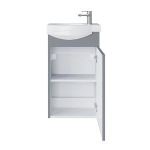 Riva vonios kambario baldai, vonios spintelė, SA40F, praustuvas RIVA40