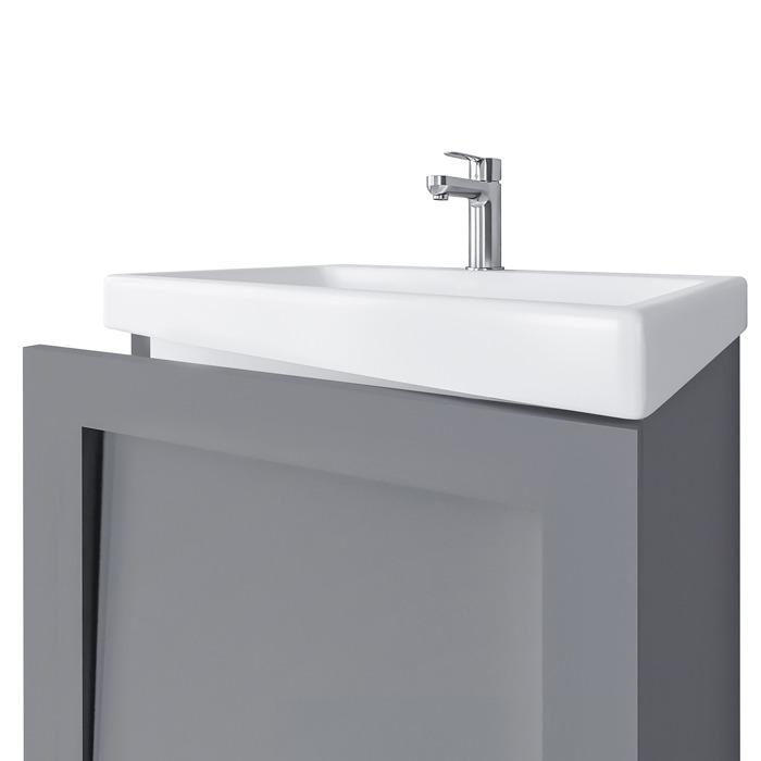 Riva vonios kambario baldai, pakabinama, spintelė su praustuvu, SA50F, su praustuvu RIVA50C arba RIVA50C-1