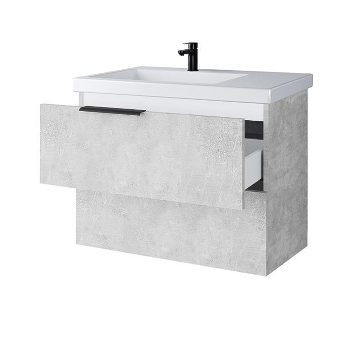 Riva-vonios-kambario-baldai-pakabinama-vonios-spintele-su-dviem-stalciais-SA70-6-su-praustuvu-RIVA70D