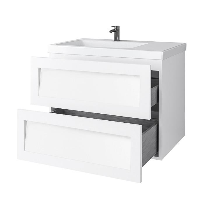 Riva-vonios-kambario-baldai-pakabinama-vonios-spintele-su-dviem-stalciais-SA70F-su-praustuvu-RIVA70D