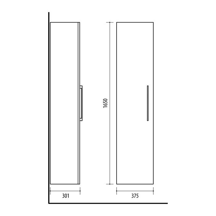 Riva-vonios-kambario-baldai-pakabinama-vonios-spintele-su-vienom-durelem-SU38-1