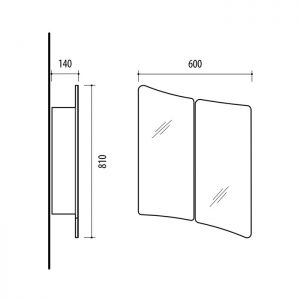 Riva-vonios-kambario-baldai-vonios-spintele-su-dviem-veidrodinem-durelem-SV60-6