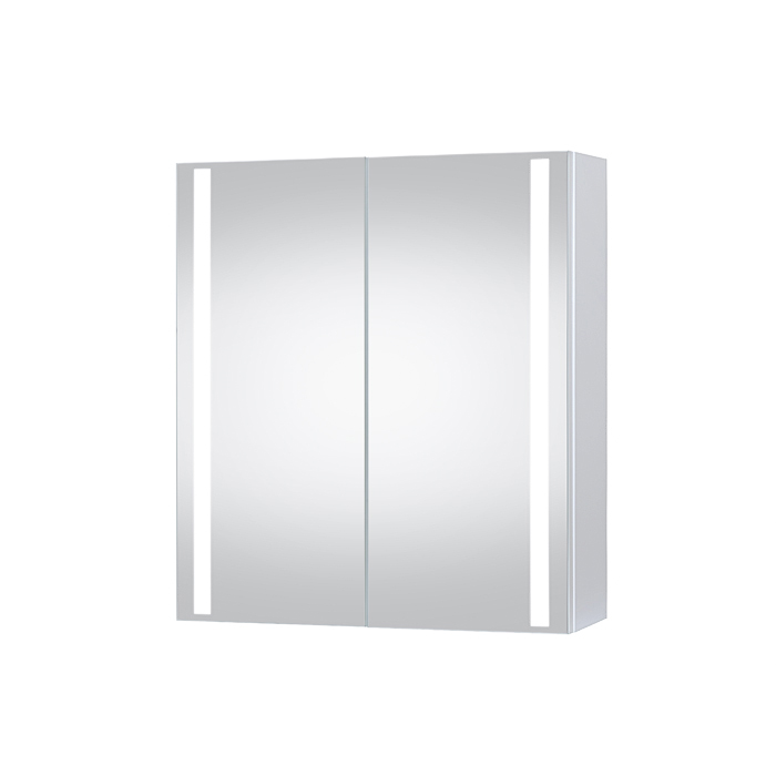 Riva-vonios-kambario-baldai-vonios-spintele-su-dviem-veidrodinem-durelem-ir-jose-integruotu-LED-apsvietimu-SV600