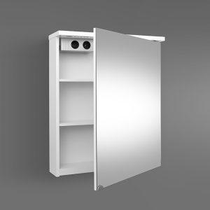RIVA vonios kambario baldai, vonios spintelė, SV60C-2 Balta