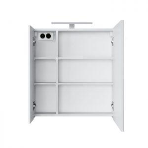 Veidrodinė spintelė su LED apšvietimu, RIVA, SV61-2