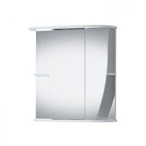 Riva vonios kambario baldai, vonios spintelė, su veidrodinėm durelėm, SV66K