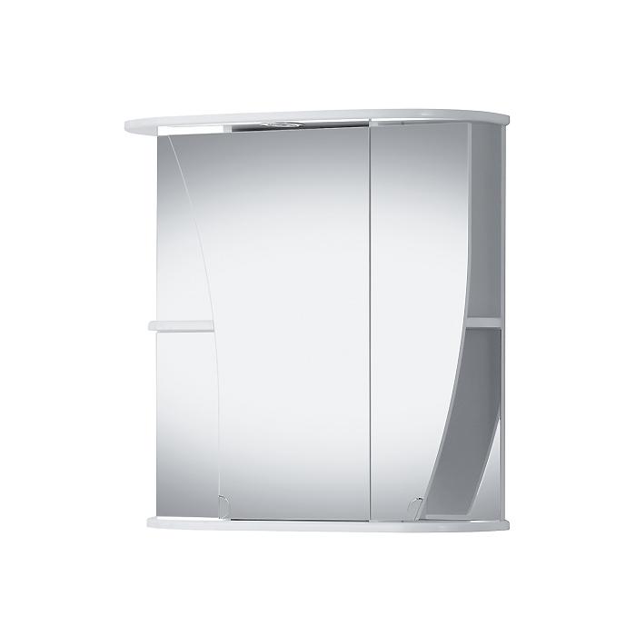 Riva vonios kambario baldai, vonios spintelė, su veidrodinėm durelėm, SV66