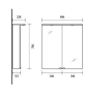 Riva-vonios-kambario-baldai-vonios-spintele-su-dviem-veidrodinem-durelem-LED-sviestuveliais-ir-kistukiniu-lizdu-SV69