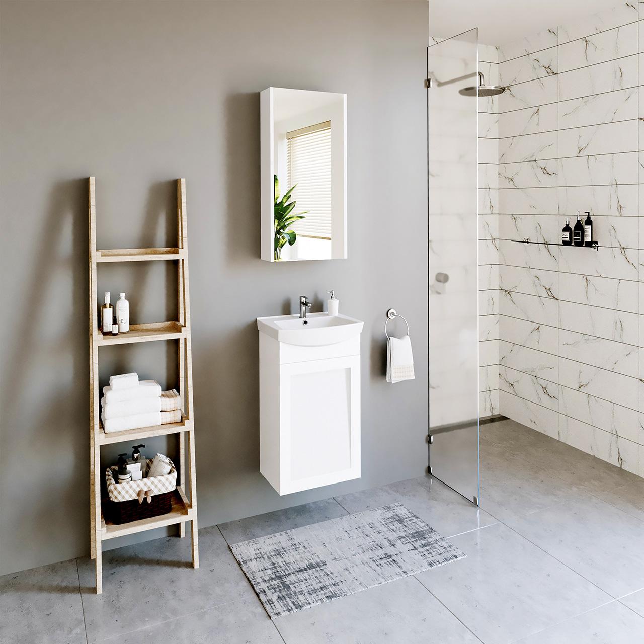RIVA vonios kambario baldai, INSPIRE kolekcija