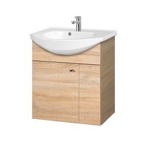 Riva-vonios-kambario-baldai-pakabinama-spintele-su-vienom-durelem-SA59-1-su-praustuvu-RIVA60D