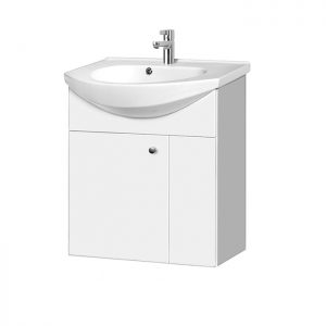 Riva-vonios-kambario-baldai-pakabinama-spintele-su-vienom-durelem-SA60D-1-su-praustuvu-RIVA60D