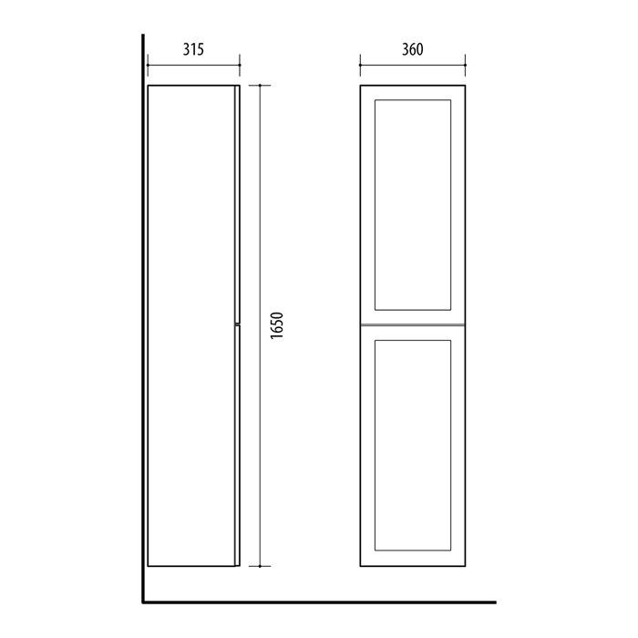 Riva-vonios-kambario-baldai-pakabinama-vonios-spintele-su-dviem-durelem-ir-nedideliu-stalcium-spinteles-viduje-SU36F