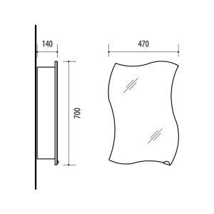 Riva-vonios-kambario-baldai-vonios-spintele-su-veidrodinem-durelem-SV47