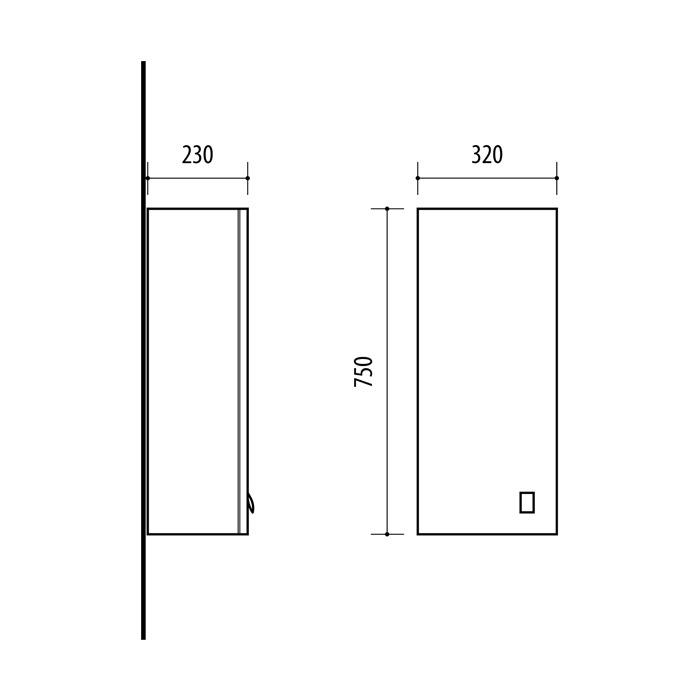 Riva-vonios-kambario-baldai-pakabinama-vonios-spintele-su-durelem-UV32-11