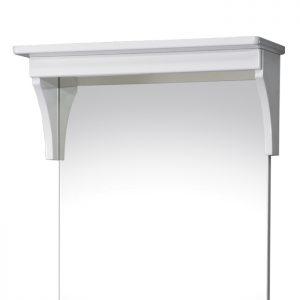 Riva vonios kambario baldai, veidrodis, su stogeliu, SV50A-R