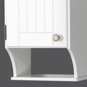 Riva vonios kambario baldai, retro spintelė, su durelėmis, UV37R