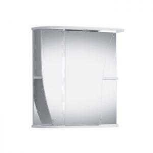 Riva vonios kambario baldai, vonios spintelė, su veidrodinėm durelėm, SV66D