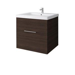 RIVA vonios kambario baldai, vonios spintelė, SA60C-2 Rigoletto Dark