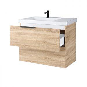 RIVA, vonios kambario baldai, vonios spintele, SA70-6, praustuvas, Riva70D